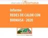 AVEBIOM destaca que el número de redes de calor con biomasa se ha multiplicado casi por 15 hasta las 433 de 2020