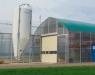 Sistema de calefacción a pellet en invernadero de MET MANN