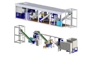 Mobile Pellet Plant, planta de fabricación de pellet