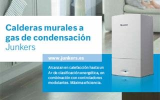 Soluciones de calefacción Junkers que se adaptan a las necesidades de cada cliente