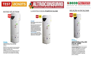 NUOS PLUS de Ariston, elegida mejor bomba de calor para ACS por el proyecto europeo Clear Project