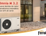 Omnia M 3.2, Ferroli presenta la nueva bomba de calor aerotérmica monobloc con wifi de serie
