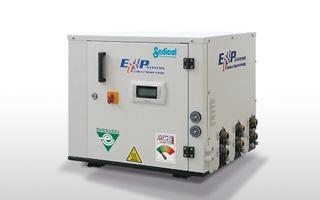 Sedical presenta la evolución de la bomba de calor tradicional con sus máquinas polivalentes Rhoss EXP