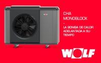 Bomba de calor WOLF CHA MONOBLOCK a la vanguardia también en sistemas de aerotermia