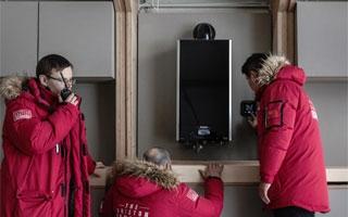 La caldera Alteas One de Ariston demuestra su fiabilidad llevando su confort hasta Groenlandia