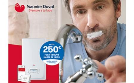 Nuevo Plan Renove para el usuario final: hasta 250 € al instalar una caldera Saunier Duval