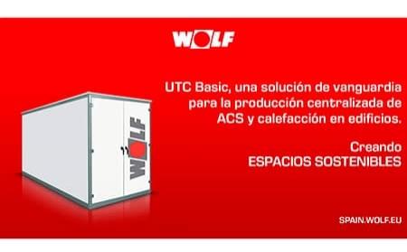 UTC Basic de WOLF, la reconversión eficiente de la sala de calderas