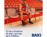 """BAXI estrena campaña de publicidad:  """"Si vas a olvidarte de algo, que sea de tu caldera"""""""