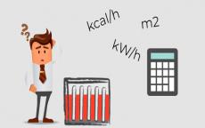 Calcular la potencia calorífica para una casa o habitación
