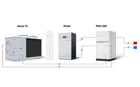 AIC: Sistemas híbridos de calefacción y ACS a partir de la bomba de calor aerotérmica