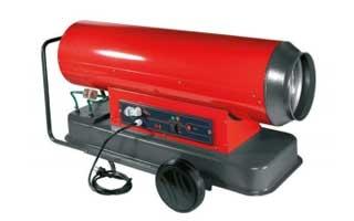 Generadores de aire caliente, de gasóleo y portátiles, Met Mann
