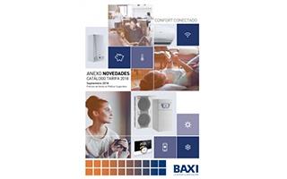 Baxi amplía su catálogo-tarifa con novedades que refuerzan su apuesta por la eficiencia