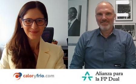 El portal de las instalaciones Caloryfrio.com se adhiere a la Alianza para la FP Dual