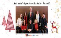 Caloryfrio.com, el portal digital con más audiencia del sector os desea ¡Feliz Navidad!