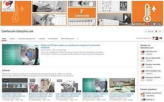 El canal de calefacción de Caloryfrio.com en YouTube supera las 130.000 visualizaciones