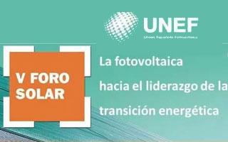V Foro Solar: La fotovoltaica hacia el liderazgo de la transición energética