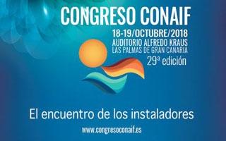 Congreso CONAIF 2018; Las Palmas de Gran Canaria acoge este año el encuentro de los instaladores