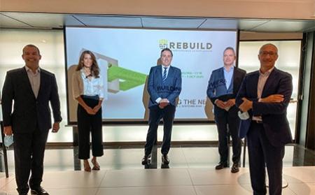 REBUILD 2020: El Gobierno recalca el papel fundamental de la construcción y la edificación en la inauguración del congreso