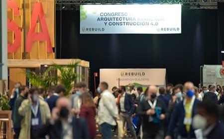 REBUILD 2021 supera las previsiones de asistentes con 10.673 congresistas en la gran semana de la edificación