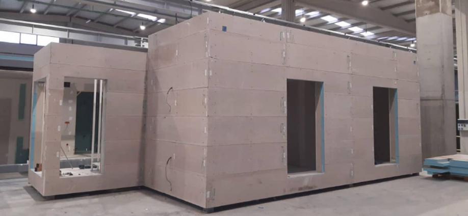 Construcción prefabricada ▷ Más rápida, sostenible y eficiente
