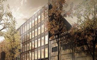 Edificio WittyWood: Ingeniería de madera en edificios de oficinas