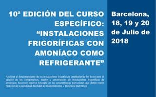 """10ª Edición del Curso """"Instalaciones Frigoríficas con Amoniaco"""""""