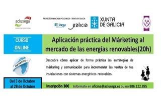 Curso de Aplicación Práctica del Marketing al mercado de las energías renovables