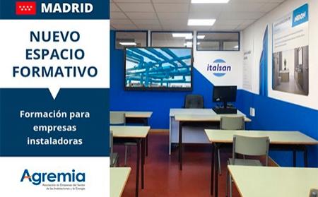 Aula Italsan en AGREMIA, nuevo espacio de formación para instaladores