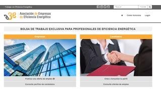 Primer portal de empleo para el sector de la eficiencia energética