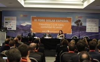 Clausura y conclusiones del III Foro Solar Español