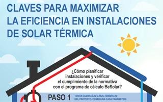 Claves para maximizar la eficiencia en instalaciones de solar térmica con Buderus BeSolar