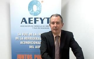 """Entrevista a Félix Sanz del Castillo, adjunto a gerencia de AEFYT: """"Administraciones, fabricantes e instaladores tenemos que buscar soluciones de consenso"""""""