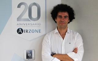 """Entrevista a Pedro Lorca, jefe de producto en Airzone: """"Los sistemas de control Airzone ofrecen una solución que armoniza la gestión conjunta de equipos de aire individuales, zonificados o sistemas radiantes  de la instalación"""""""
