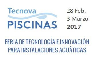 Novedades tecnológicas para instalaciones acuáticas en la Feria Tecnova Piscinas 2017