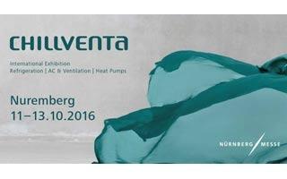 Chillventa 2016 gran encuentro internacional de la refrigeración, aire acondicionado, ventilación y bombas de calor