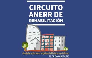 Programa de actividades ANERR en el Circuito de Rehabilitación en Construtec