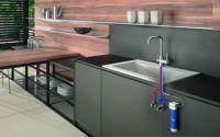 Sistema de filtración de agua con grifería Genebre