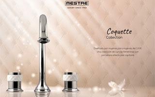 Mestre presenta Coquette Collection, una colección de grifería creada por y para mujeres