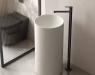 Monomando de pie para lavabo Oslo de Genebre con diseño minimalista