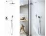 Kit de ducha empotrado de la serie Oslo Baño, una de las novedades del Catálogo 2021 de Genebre