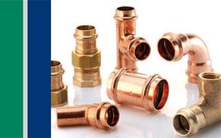 Gama >B Press Solar de Conex|Bänninger para unión de tuberías en instalaciones solares