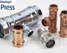 B Press, una unión segura para tubería de cobre