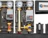 Grupos y armarios hidráulicos Teula con regulación a medida para salas de calderas