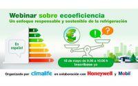 Climalife organiza el webinar 'Ecoeficiencia: Un enfoque responsable y sostenible de la refrigeración'