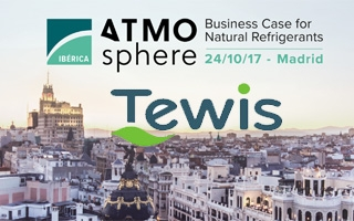 Tewis presenta su gama FULL CO2 en ATMOsphere Ibérica 2017
