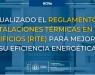 Actualizado el RITE: descargar Reglamento de las Instalaciones Térmicas en los Edificios