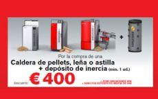 Compra calderas de biomasa Hargassner y ahorra hasta 400 euros
