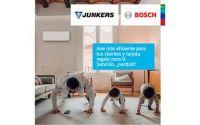 Campaña de aire acondicionado de Junkers-Bosch: 'Aire más eficiente para tus clientes y tarjeta de regalo para ti'
