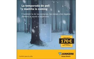Junkers premia la instalación de sus calderas y controladores con cheques regalo