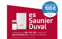 El nuevo Plan Renove de calderas de Saunier Duval regala 100 euros